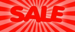 sale homepage